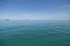 Deep Blue Andaman Sea Stock Images