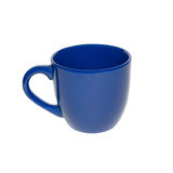 Deep blue cup Stock Images
