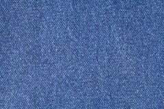 Blue jeans cloth as background Stock Photo