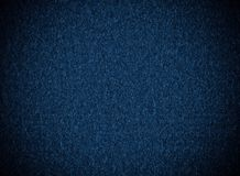 Deep blue, fabric texture Royalty Free Stock Images
