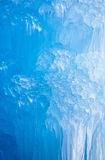 Deep Blue Icicles Royalty Free Stock Photography