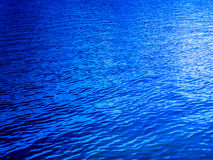 Deep blue lake Royalty Free Stock Photography