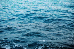 The deep blue large ocean Royalty Free Stock Photo