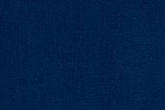Deep blue leather background Royalty Free Stock Images