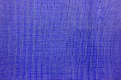 Deep Blue mosaic tiled wall Royalty Free Stock Image