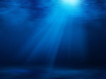 Deep blue ocean Stock Image