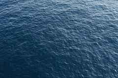 Deep blue ocean from above Stock Images