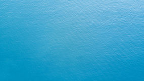 Deep blue ocean with calm wave Stock Images