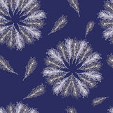 Deep blue pattern Royalty Free Stock Image