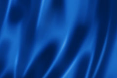 Deep blue satin texture Stock Photos