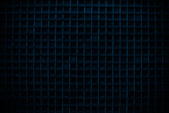 Deep Blue Screen door detail pattern background Royalty Free Stock Photography