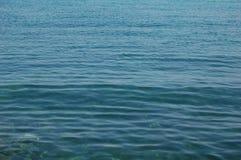 Deep blue sea. Clear blue Adriatic  sea in Dalmatia, Croatia Stock Images