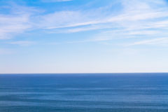 Deep blue sea Stock Photography