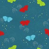 Deep blue seamless Royalty Free Stock Image
