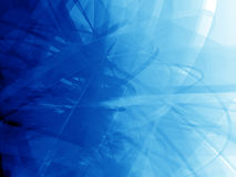 Deep blue tangle Royalty Free Stock Photo