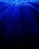 Deep blue underwater Stock Image