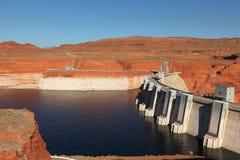 The deep blue water of the Colorado River Stock Photos