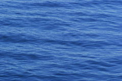 Deep blue water texture Royalty Free Stock Images