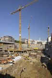 Deep building site, Stuttgart Stock Photography