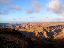 Deep canyon Stock Photo
