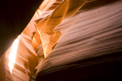 Deep Underground Antelope Slot Canyon Navajo Land Royalty Free Stock Images