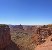 Deep Canyon in Canyonlands National Park Royalty Free Stock Photography