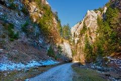 Deep canyon Stock Photos