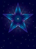 Star Shining Card_eps Royalty Free Stock Photo