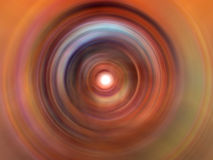 Deep Color Swirl. Color Swirl Royalty Free Stock Image