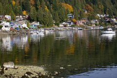 Deep Cove Harbor Vancouver BC Canada Royalty Free Stock Photography