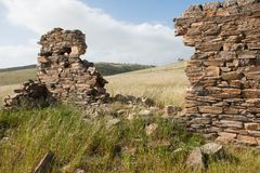 Deep creek ruins royalty free stock photography
