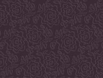 Deep dark laze style tender rose floral Stock Photo