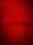 Deep Dark Red Concrete Grunge Background Stock Images