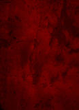 Deep Dark Red Grunge Textured Background Stock Photos