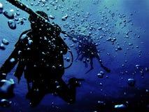 Deep dive Stock Images