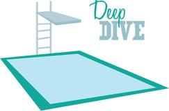 Deep Dive Royalty Free Stock Photos
