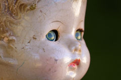 Deep Eyed Doll Royalty Free Stock Images