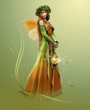 Deep Forest Elf stock illustration