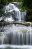 Deep forest Waterfall Royalty Free Stock Photo