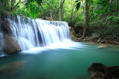 Deep forest Waterfall Stock Photography