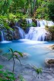 Deep forest waterfall at Erawan waterfall National Park Kanjanaburi Thailand. Deep forest waterfall at Erawan waterfall National Park Kanjanaburi Stock Images