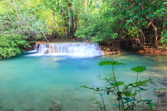 Free Deep Forest Waterfall In Kanchanaburi (Huay Mae Kamin) Stock Photography - 43581372