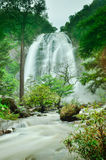 Deep forest waterfall in Kamphaeng Phet Stock Photo