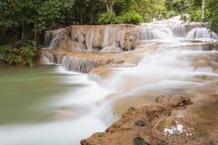 Deep forest waterfall National Park in thailand Stock Photography