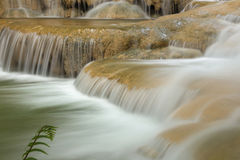 Deep forest waterfall National Park in thailand Royalty Free Stock Photos