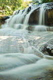 Deep forest waterfall in Rayong Stock Photo