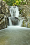 Deep forest waterfall in Rayong Royalty Free Stock Image