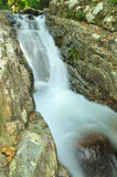 Deep forest waterfall in Rayong Royalty Free Stock Photos