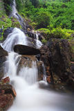 Deep forest waterfall in Saraburi, Thailand Royalty Free Stock Photos