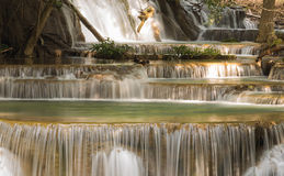 Deep forest waterfalls in National park of Thailand Royalty Free Stock Photography